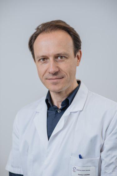 Dr P Laudrin, chirurgien orthopédiste Rennes, genou et hanche