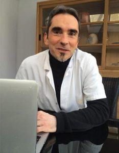 Le Dr Pierre Siret, Chirurgien de la main à l'Institut Rennais de Chirurgie Orthopédique et de Médecine du Sport