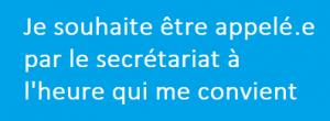 demande de rappel pour RV Ircoms Rennes